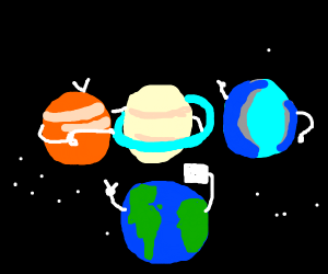 All planets pose for a picture
