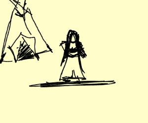 teepee woman