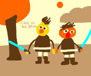 Bert & Ernie back in action