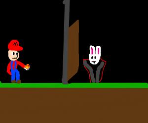 Mario doesn't like Bunnicula