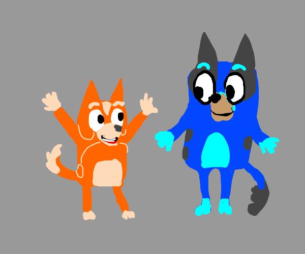 Bluey and Bingo