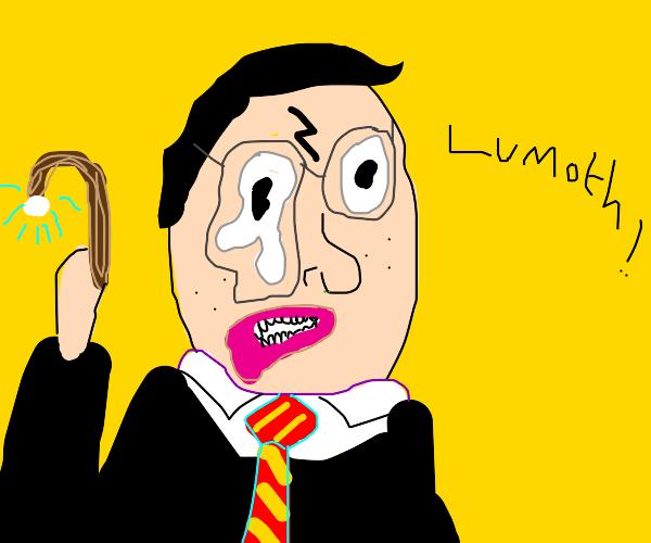 Harry Potter's having a stroke