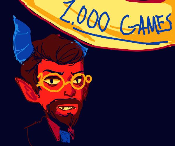 Devil celebrates 1,000 games!