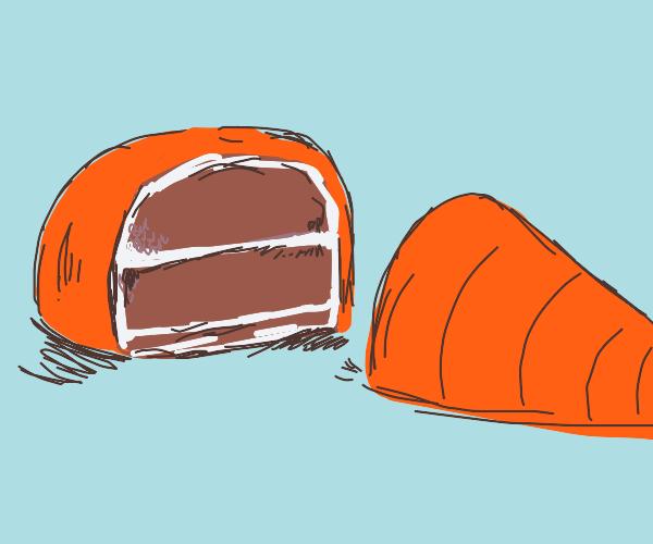 Literal carrot cake