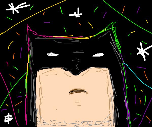Batman doesn't enjoy going to raves