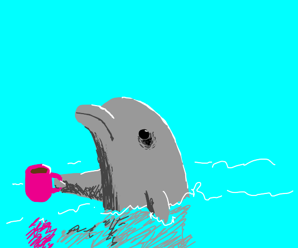 Tired Dolphin