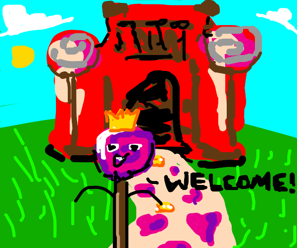 Prince from candyland welcomes you