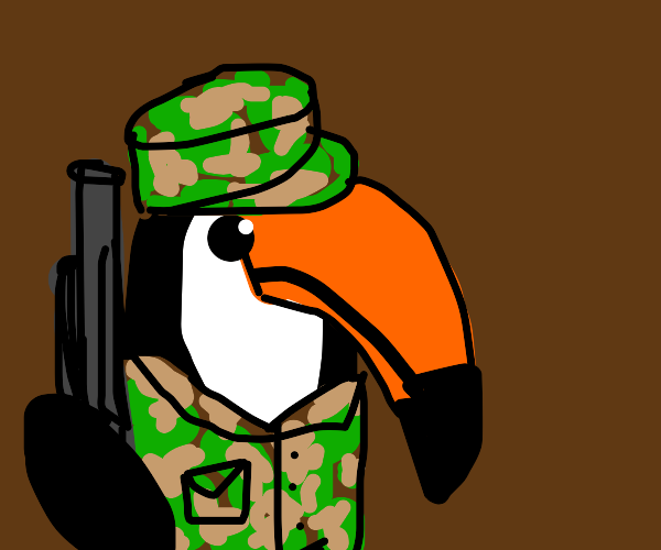 Tucan in the Army