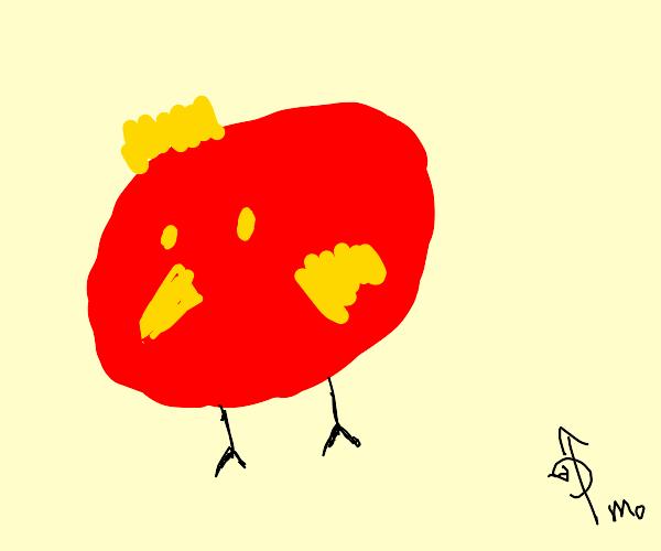 Rovio the angry bird