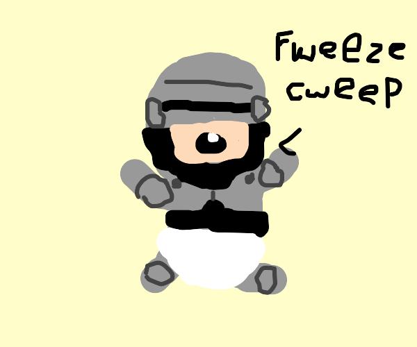 Baby RoboCop!