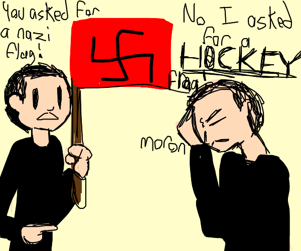 you asked for a nazi flag