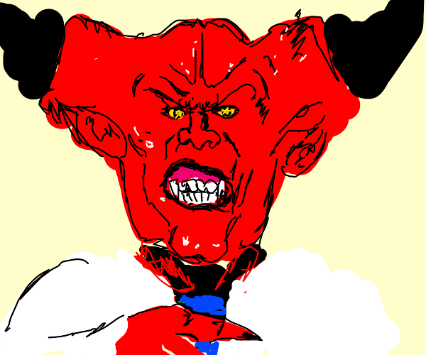 Devil is ready for his job interview