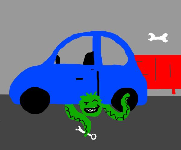 Creepy Mechanic