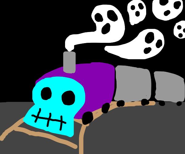 Train emits death
