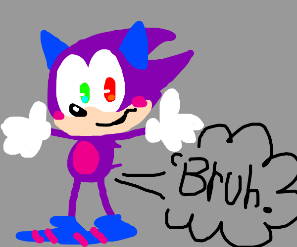 A Sonic OC farts out bruh