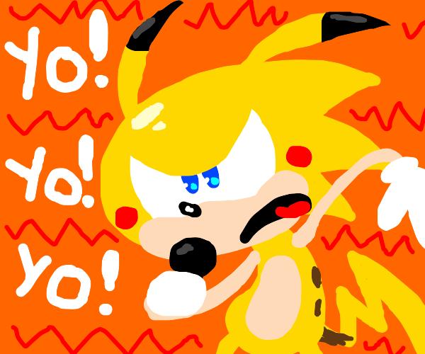 Sonichu participates in a rap battle