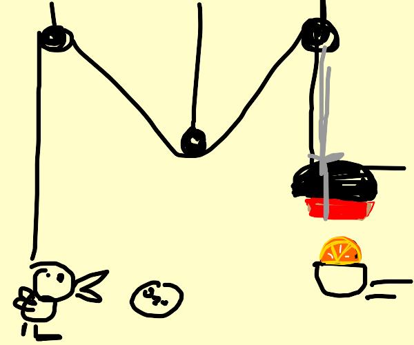 Rube Golberg Machine Juicer