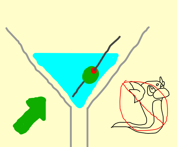 martini, no dratini