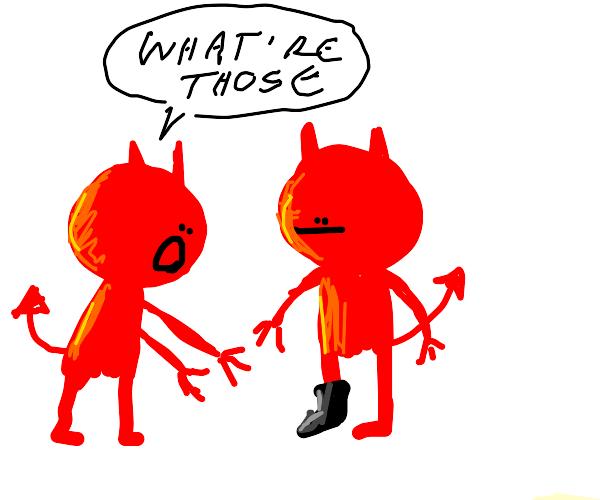 Demon's Shoe