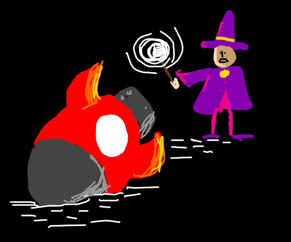 Wizard finds a hydrogen bomb