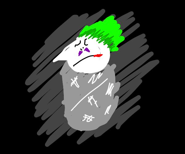 The joker has been foiled