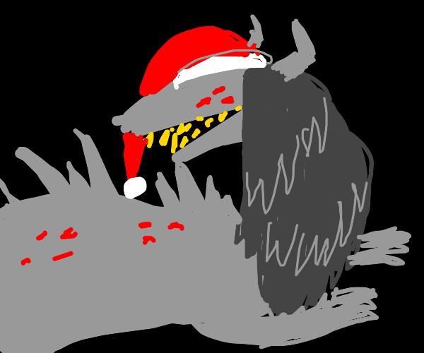 Lizard Santa