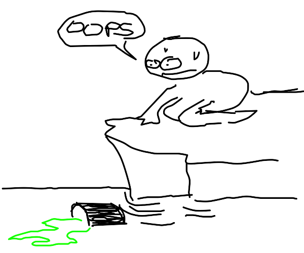 oh no i spilled my gak into the ocean