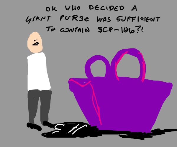 Sludge man in a bag