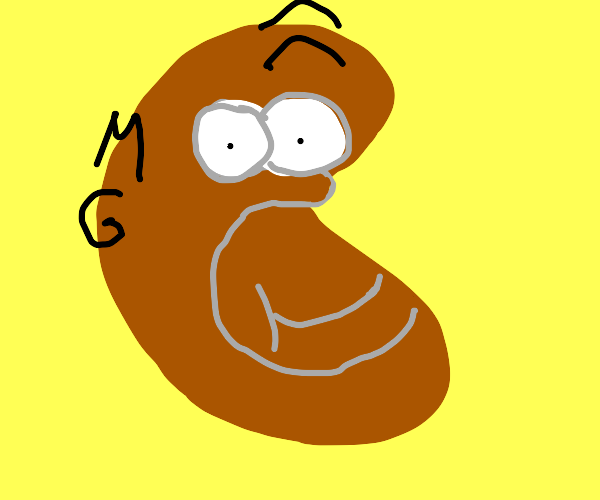 Homer simpson turns into beans