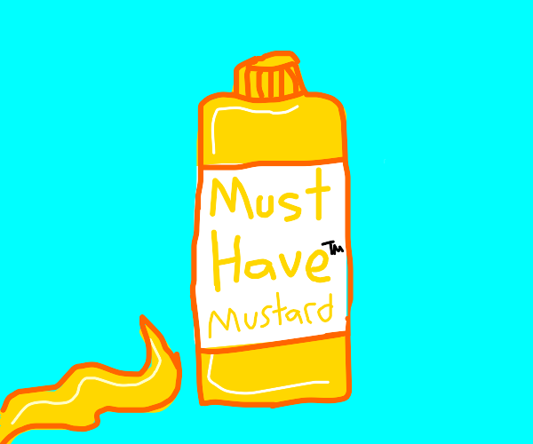 Must Have(TM) brand mustard