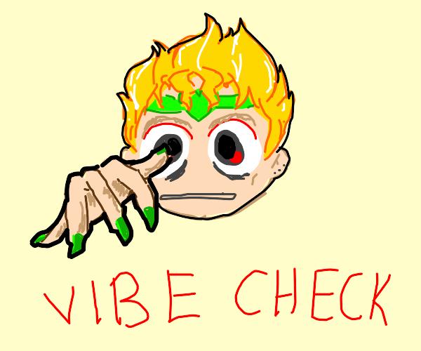 Vibe Check Dio Brando