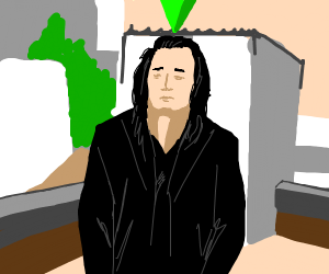 Tommy Wiseau in Sims 4