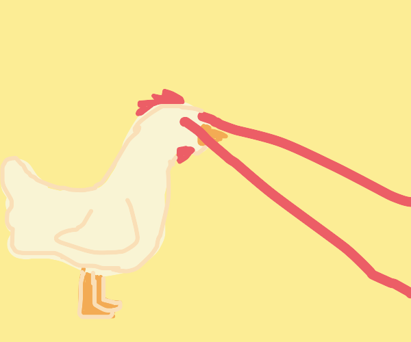 Lazer Eyes Chicken