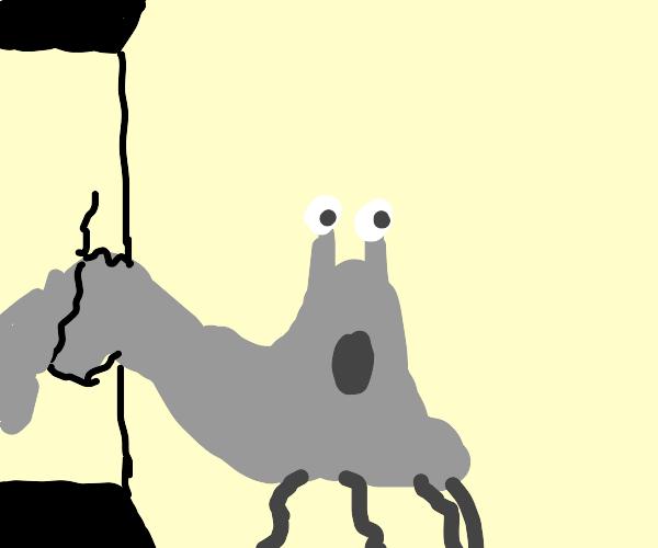 grey creature breaches containment