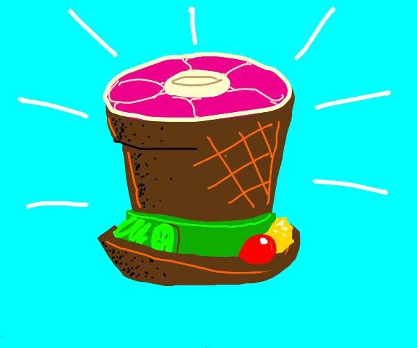Meat hat