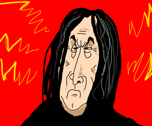 Old angry Snape