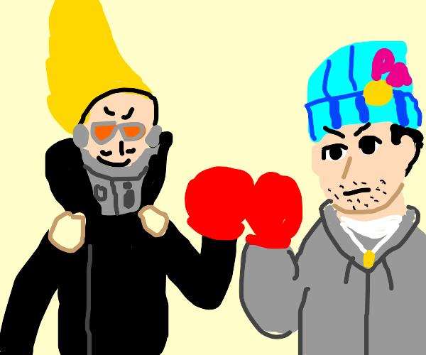 Present Mic vs. Hobo Phoenix Wright Fistfight