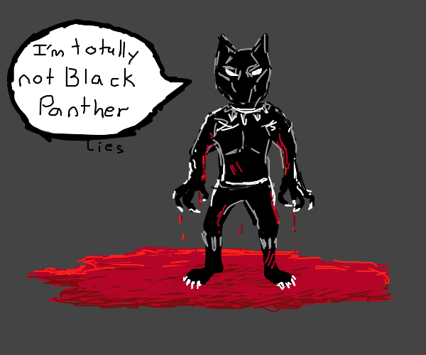 Black Panther lies in his blood