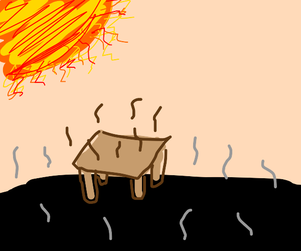 Table in a Heatwave