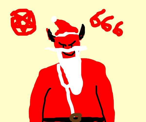Demonic Santa