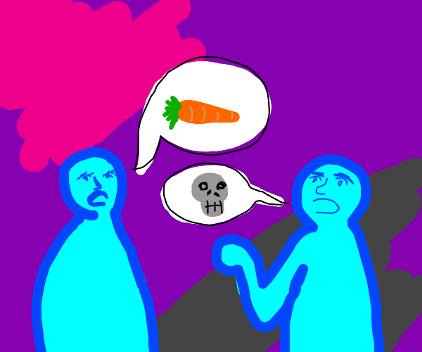 Talking about deadly carrots