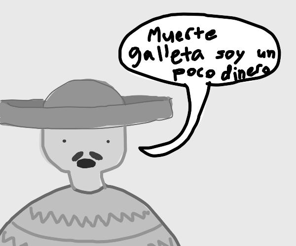 Man speaking in Spanish