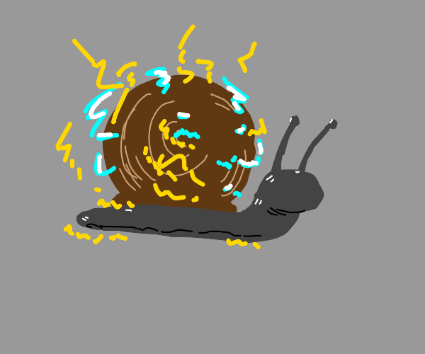 Electric snail
