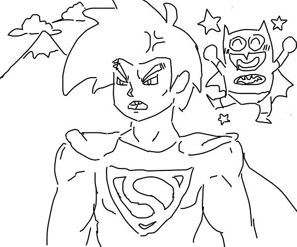 Super man anime