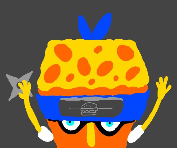 naruto spongebob