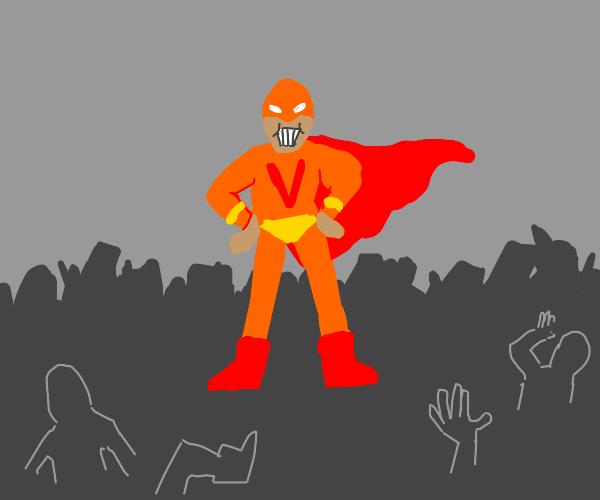 New volcano themed superhero