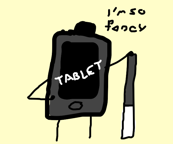 fancy drawing tablet