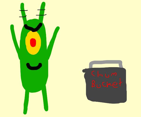 plankton is bigger than the chum bucket