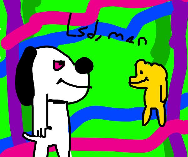 Snoopy & Woodstock on LSD