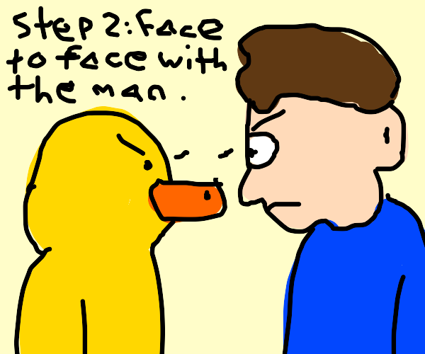 Step 1: Waddle to Lemonade Stand